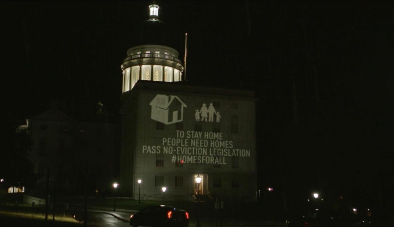 Capitol no evictions